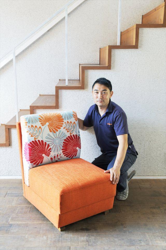 ソファーの修理は【AZUMA】がへたりも綺麗に直します!