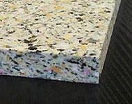 ダイニングチェア座面用チップウレタン 3cm ・チップウレタン 50x50x3cm